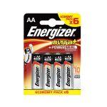 Energizer 6 piles LR06/AA Max
