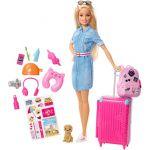 Mattel Poupée Barbie - Barbie voyage