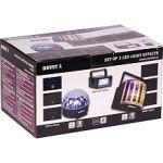Lotronic Party Light & sound Party-TRIFX - Pack de 3 petits effets de lumière a LED