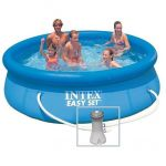 Intex Kit piscine Easy Set 3.05 x 0.76 m avec épurateur