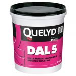 Quelyd Colle mastic polyvalente spéciale isolation DAL 5 1kg