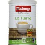 Malongo Café moulu pur arabica, La Tierra, biologique et équitable - La boîte de 250g