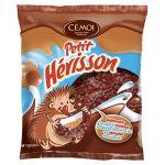 Cémoi Sachet l'Authentique Petit Hérisson Guimauve au Chocolat au Lait/Caramel 180 g - Lot de 10