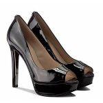 Guess Chaussures escarpins Escarpin en cuir ref_ 41773 black Noir - Taille 36,37,38,40