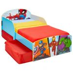 Super ros Lit pour enfants avec espace de rangement sous le lit