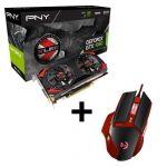 PNY Pack Carte Graphique GTX1060 XLR8 OC + Souris Gaming Riot 01 - PNYGTX1060RIOT