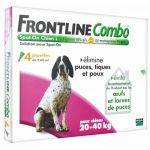 Frontline Combo Spot on chiens 20-40kg - 4 pipettes
