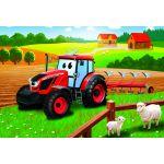 Dino Puzzle Tracteur