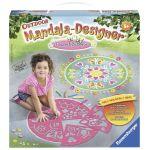 Ravensburger 29763- Original Mandala Designer Outdoor : fleurs et papillons