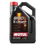Motul Moteur Huile de graissage 8100 X-Clean+ 5W30 5L