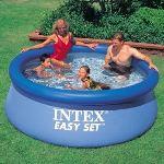 Intex 56970FR - Piscine hors sol autostable Easy Set ronde Ø 244 x 76 cm