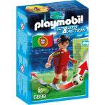 Playmobil 6899 Sports et Actions - Joueur de foot Portugais