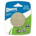 Chuckit Balle Max glow 1-PK S en caoutchouc Ø 5cm