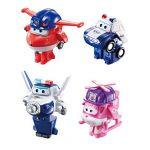 Auldey Pack de 4 figurines transformables Super Wings