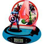 Lexibook RP500AV - Radio-réveil projecteur Avengers