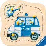 Ravensburger Police Allemande - Puzzle en bois 5 pièces