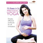 At Home with Hilaria Baldwin : Fit Mommy-to-Be Prenatal Yoga