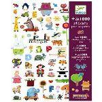Djeco 1000 stickers pour les petits