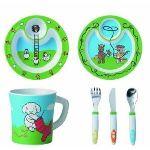 Emsa 509096 - Set repas 6 pièces Farm Family