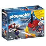 Playmobil 9468 - Pompiers Avec Matériel D'incendie
