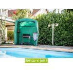 Habrita CAR1613AL - Housse de protection pour abri barbecue