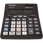 Citizen Calculatrice de bureau Office CDB 1601 noir solaire, à pile(s)