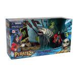 LGRI Bateau pirate + figurine animal