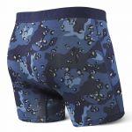 Saxx Underwear Vêtements intérieurs Vibe Boxer Modern Fit - Blue Nighthawk - Taille M