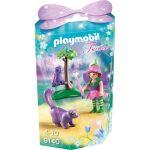 Playmobil 9140 Fairies - Fée avec hibou et putois