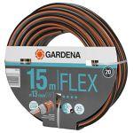 "Gardena Tuyau Comfort Flex 9x9 13 mm (1/2"") 15 m m, Gris/Orange, 30 x 30 x 30 cm"