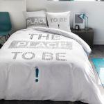 Today Parure de couette 100% coton 220x240 The Place To Be