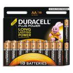 Duracell Piles Plus power - AA - pack de 18