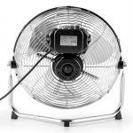 OneConcept Metal Blizzard - Ventilateur de sol 55 Watts inclinable