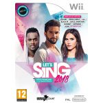Let's Sing 2018 Hits Français Et Internationaux sur Wii
