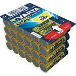 Varta 24 piles alcalines AA LR06 1.5V Longlife