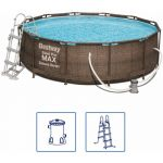 Bestway Ensemble de piscine Steel Pro MAX Deluxe Series Rond 56709