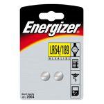 Energizer 2 piles bouton alcaline 189/lr54 (1,5v)
