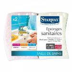 Starwax 2 éponges sanitaire