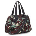 Kipling July Bag Sac de Voyage, 45 cm, 21 liters, Multicolore (Camo L)