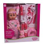 Qweenie Dolls Coffret médical avec poupée 30 cm