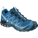 Salomon XA Pro 3D, Chaussures de Trail Homme, Bleu (Mykonos Blue/Reflecting Pond/White), 44 EU