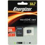 Energizer Classic Carte MicroSDHC 32 Go Class 10 avec adapteur