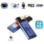 Yonis Y-BCE2G16 - Briquet camera espion appareil photo enregistrement sonore USB 16 Go