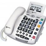Geemarc Serenities Blanc Détection Chute - Téléphone filaire