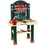 Klein 8461 - Jeu d'imitation - Etabli Bosch Work-Shop avec 82 accessoires