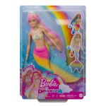Mattel Barbie sirène magique arc-en-ciel