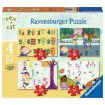 Ravensburger 4 Puzzles - Peg + Cat