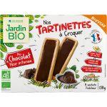 Jardin Bio Tartines Chocolat Noir Bio - La Boite De 138g