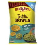 Old el paso Chips tortilla bowls sea salt