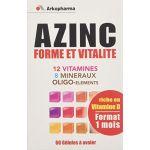 Arkopharma Azinc Forme et Vitalité adultes - 60 gélules